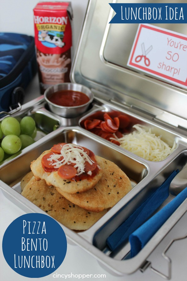 Pizza Bento Lunchbox Recipe: 10 School Lunchbox Ideas Your Kid Will Love | Cheap Is The New Classy