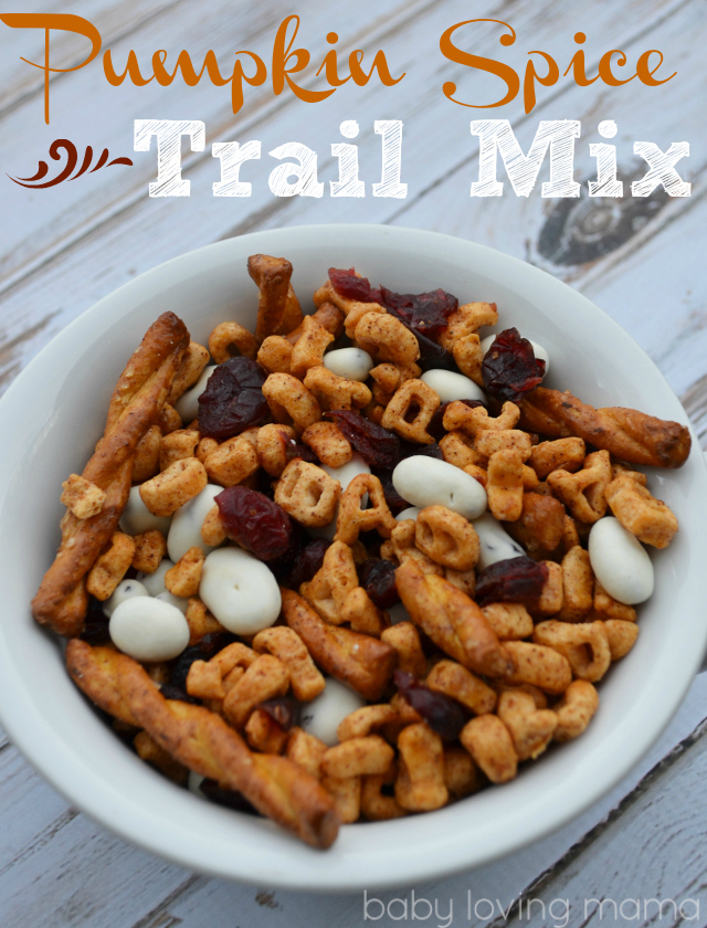 Pumpkin Spice Trail Mix: 10 Fun Trail Mix Recipe Ideas For National Trail Mix Day | Cheap Is The New Classy