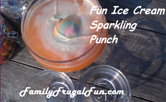 Orange Crush Sparkling Punch: 10 Tasty Punch Recipes To Celebrate National Punch Day | Cheap Is The New Classy