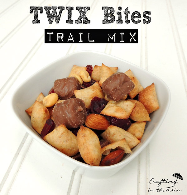 Twix Bites Trail Mix: 10 Fun Trail Mix Recipe Ideas For National Trail Mix Day | Cheap Is The New Classy