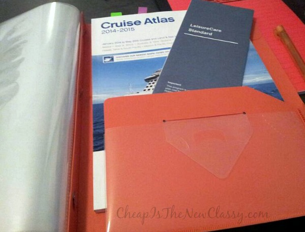 DIY Cruise Itinerary Folder + FREE Vacation and Cruise Packing List Printables #ad @DollarTree