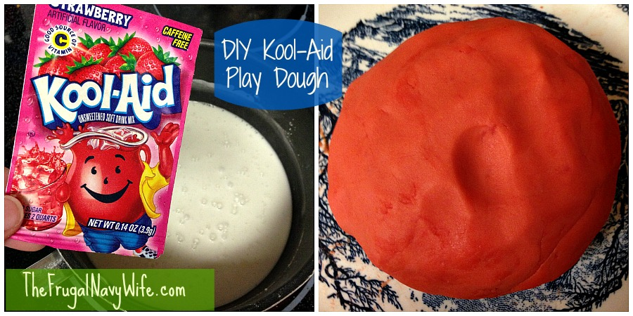 DIY Kool-Aid Play Dough: 6 Easy Play Dough Recipes For National Play-Doh Day | Cheap Is The New Classy