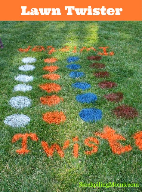 Lawn Twister: 10 Family Fun Activities | Cheap Is The New Classy