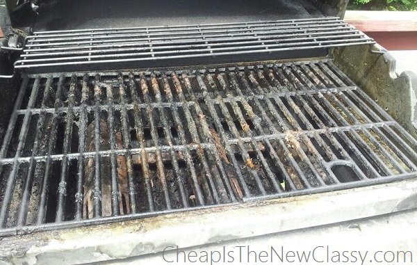 How To Clean BBQ Grill Racks With WAY Less Scrubbing #sponsored #PalmoliveWM
