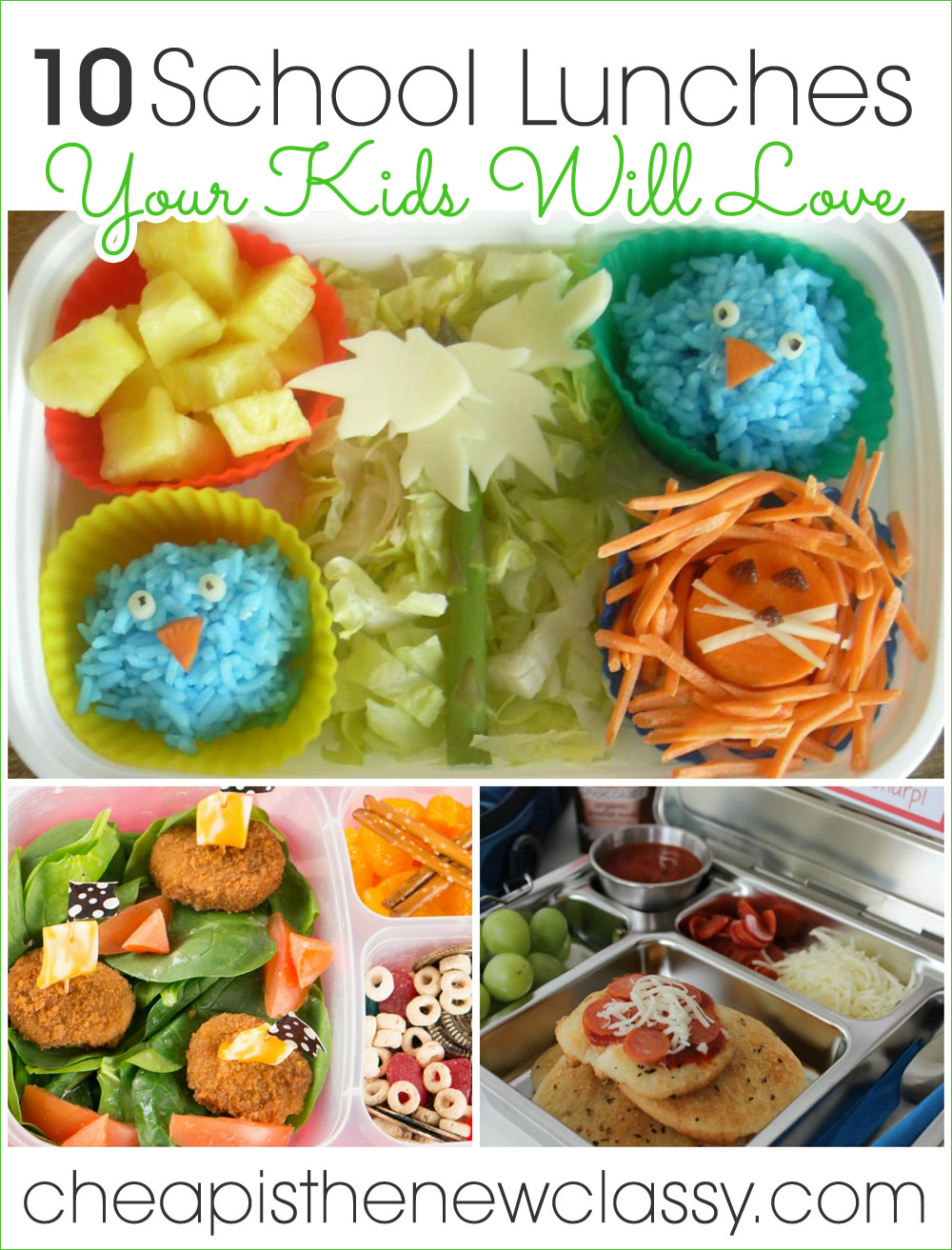 10 School Lunchbox Ideas Your Kid Will Love | Cheap Is The New Classy