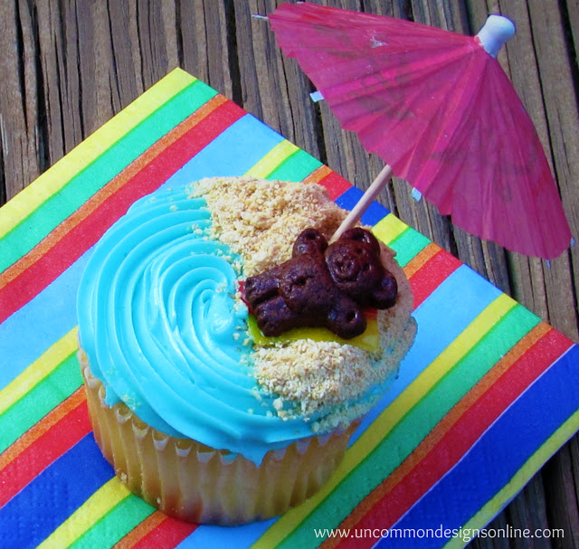 Simple Beach Cupcakes: 10 Cupcake Recipes To Help You Celebrate Cupcake Day | Cheap Is The New Classy