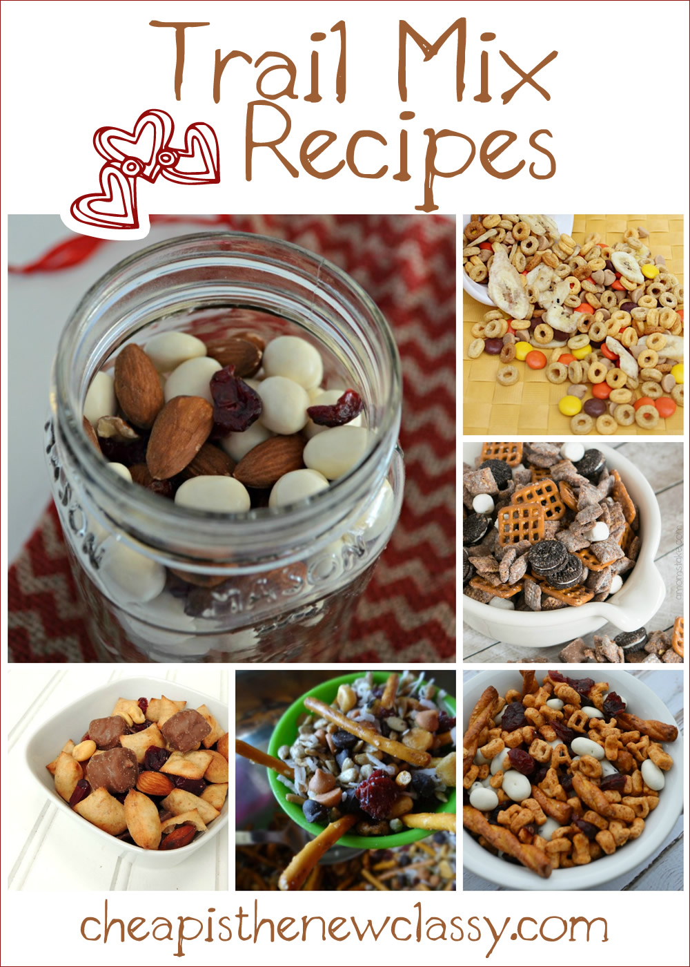 August 31st is National Trail Mix Day - Celebrate With One Of These 10 Fun Trail Mix Recipe Ideas | Cheap Is The New Classy