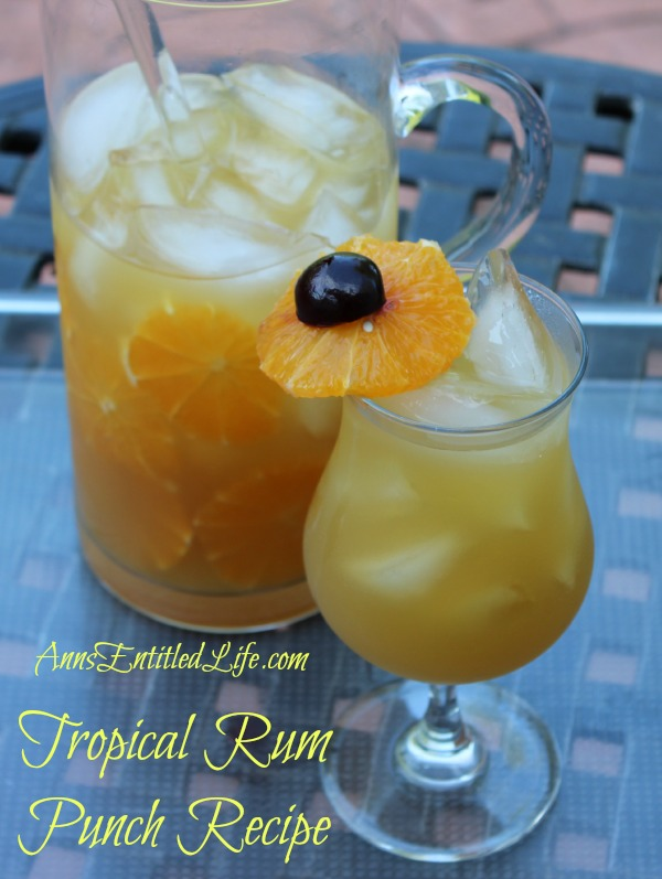 Tropical Rum Punch Recipe: 10 Tasty Punch Recipes To Celebrate National Punch Day | Cheap Is The New Classy