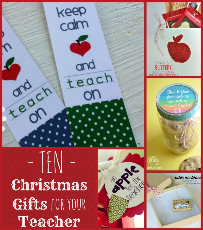10 christmas gift ideas for teachers cheap is the new classy