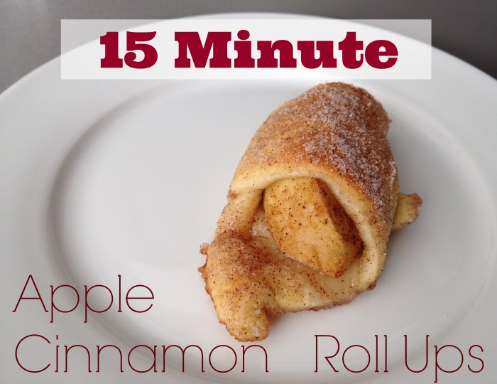 15 Minute Apple Cinnamon Rollups: The Best Dessert Recipes From Food Bloggers | Cheap Is The New Classy