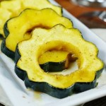 Baked Acorn Squash with Maple Glaze 1-1