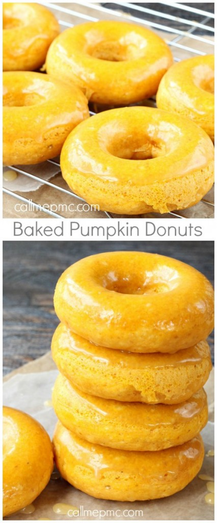 Baked Pumpkin Donuts With Caramel Glaze: 10 Of The Best Fall Pumpkin Recipes | Cheap Is The New Classy