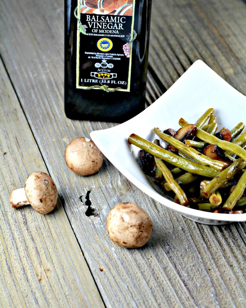 Green Beans With Balsamic Glaze: 10 Thanksgiving Recipes For Your Family Table | Cheap Is The New Classy