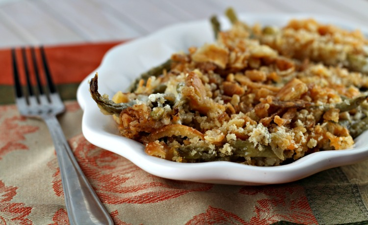 Crock Pot Green Bean Casserole: 10 Thanksgiving Recipes For Your Family Table | Cheap Is The New Classy