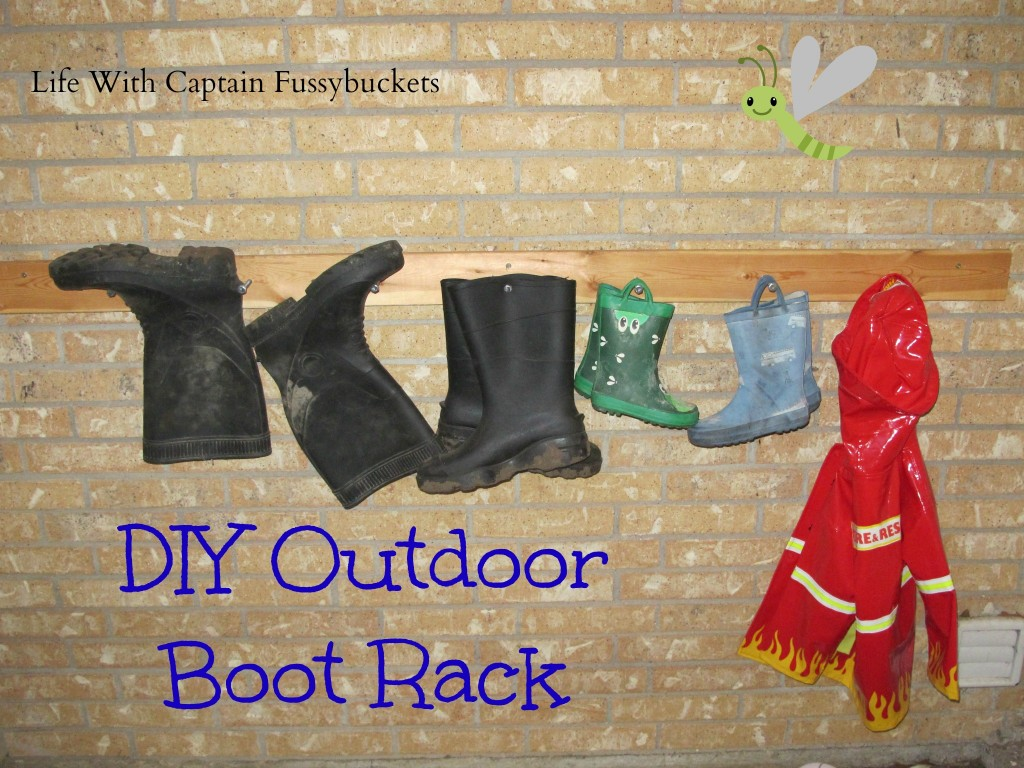 DIY Outdoor Boot Rack: 10 Home Organization Ideas For A Clutter Free Life | Cheap Is The New Classy