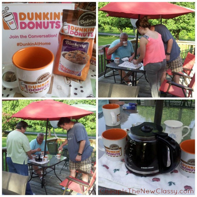 Have a coffee party with the new Dunkin' Donut Bakery Series Coffee plus check out this recipe for Turtle Donut Blended Coffee you are sure to love. #sponsored