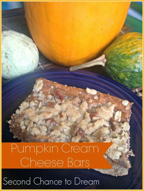 Pumpkin Cream Cheese Bars: 10 Tasty Pumpkin Recipes For Fall | Cheap Is The New Classy