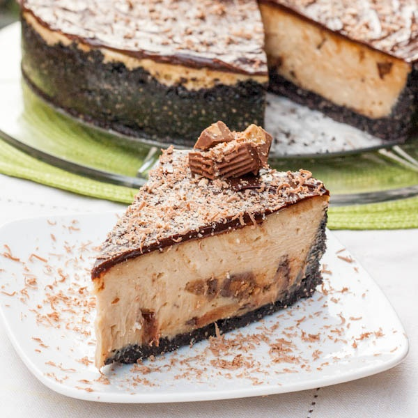 Reese's Peanut Butter Cheesecake: The Best Dessert Recipes From Food Bloggers | Cheap Is The New Classy