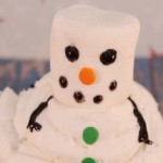 Snowman-Marshmallow-Cupcakes
