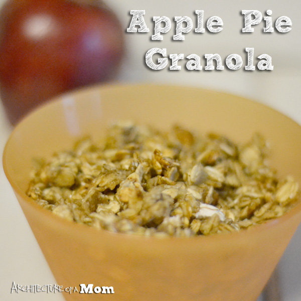 Apple Pie Granola: 10 Amazing Apple Pie Recipes | Cheap Is The New Classy