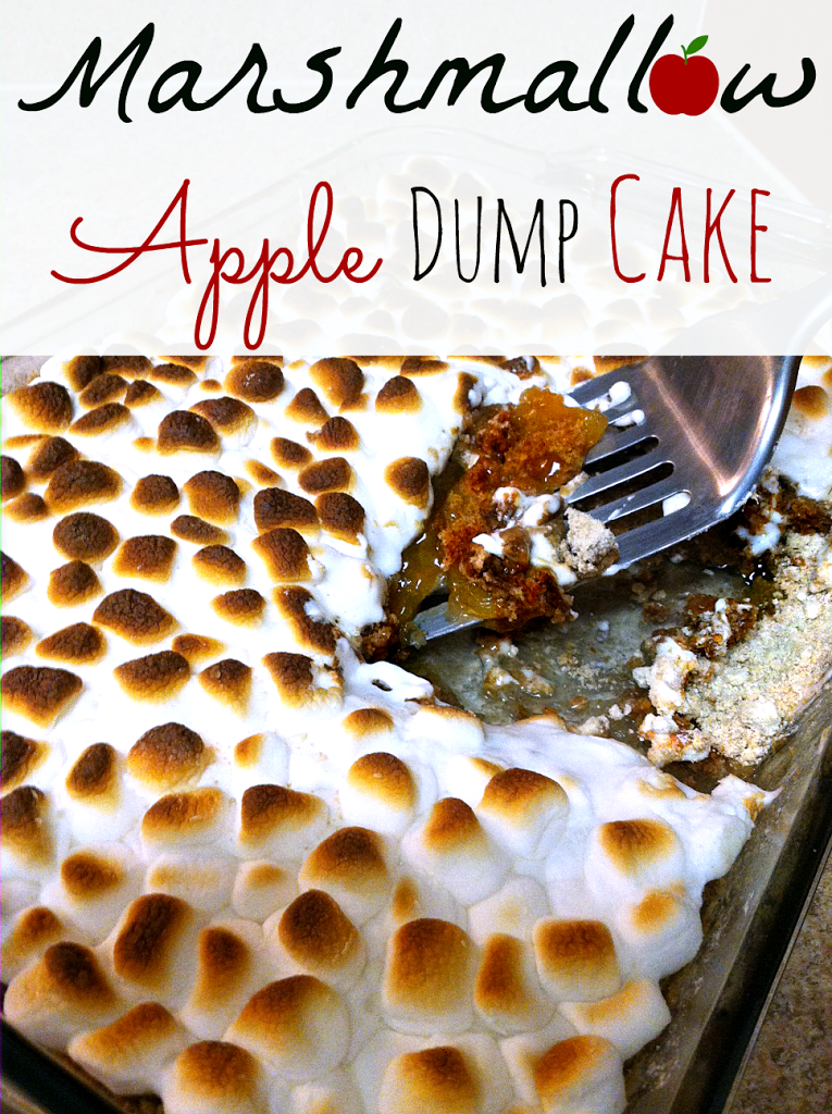 Marshmallow Apple Dump Cake: 10 Amazing Apple Pie Recipes | Cheap Is The New Classy