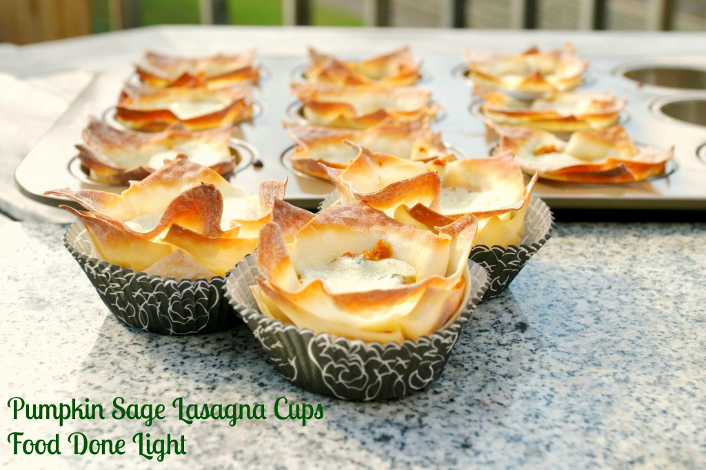 Pumpkin Safe Lasagna Cups: 10 Tasty Pumpkin Recipes For Fall | Cheap Is The New Classy