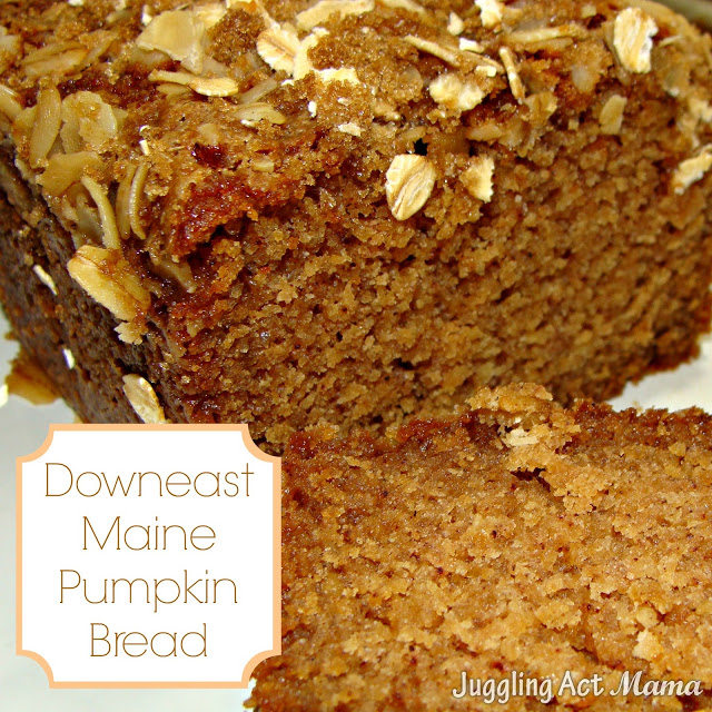 Downeast Maine Pumpkin Bread: 10 Tasty Pumpkin Recipes For Fall | Cheap Is The New Classy