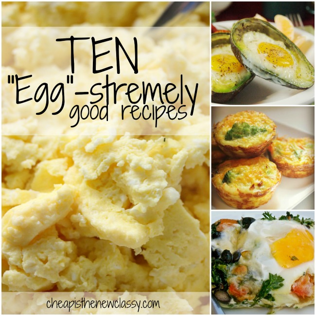 10 Egg-stremely Good Egg Recipes For National Egg Day and World Egg Day | Cheap Is The New Classy