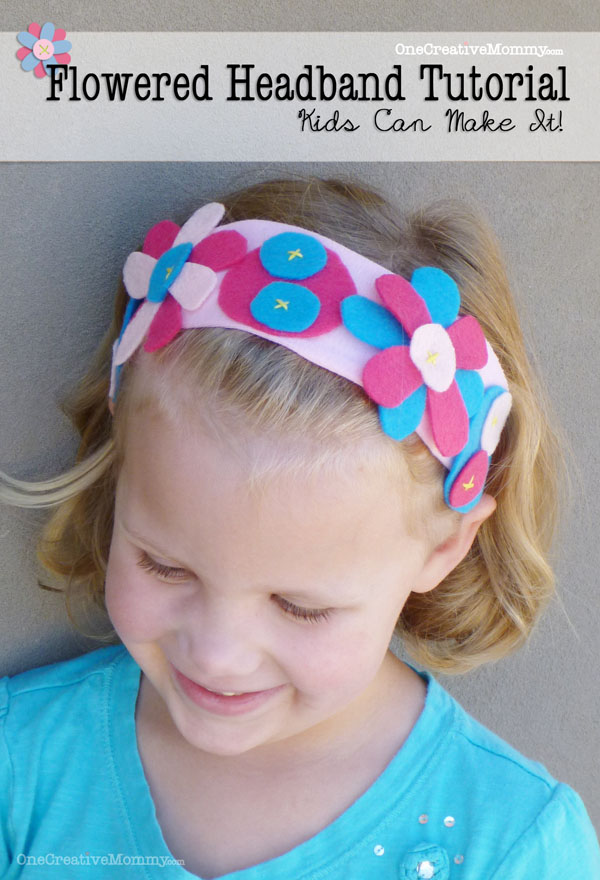 Flowered Headband Tutorial: Upcycled Clothing Ideas: 10 Ways to Give Old Clothes New Life | Cheap Is The New Classy
