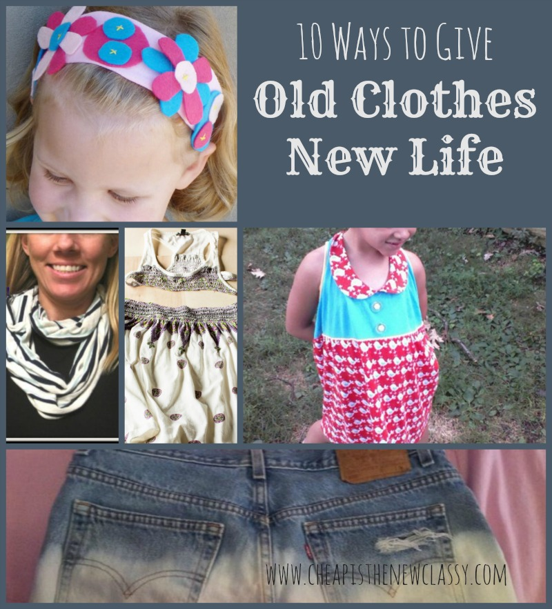 Upcycled Clothing Ideas: 10 Ways to Give Old Clothes New Life | Cheap Is The New Classy