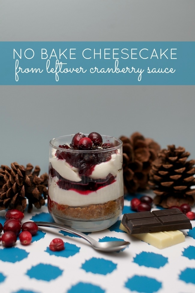 No Bake Cheesecake From Leftover Cranberry Sauce: 10 Thanksgiving Recipes For Your Family Table | Cheap Is The New Classy