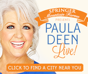 One lucky Cheap Is The New Classy reader will win 2 tickets to see Paula Deen Live! at the Belk Theater in Charlotte, NC, on September 24th. #sponsored