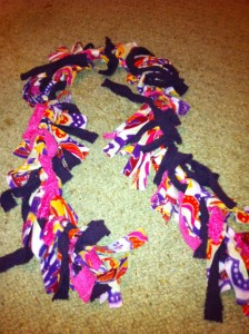 How To Make A Fleece Scarf: Upcycled Clothing Ideas: 10 Ways to Give Old Clothes New Life | Cheap Is The New Classy