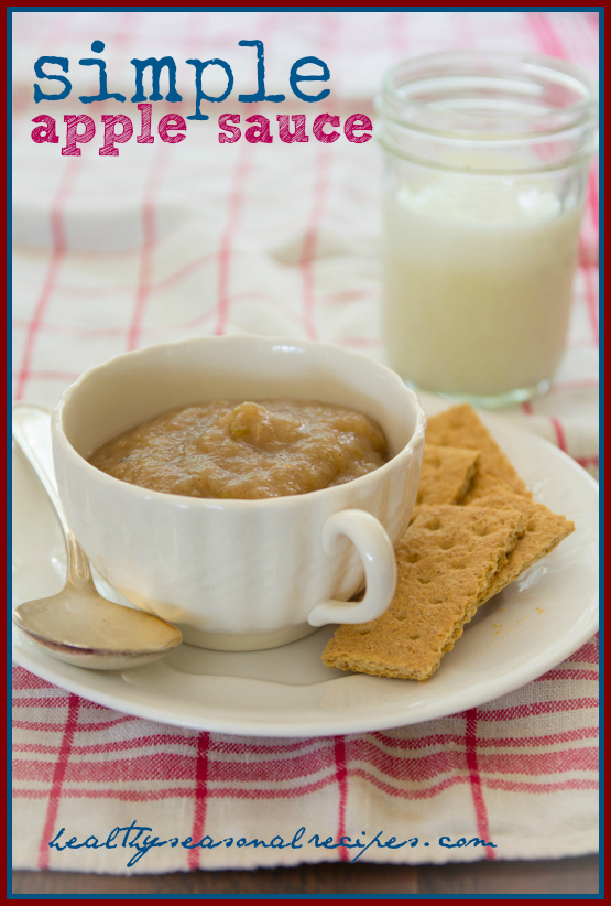 Simple Apple Sauce: 10 Favorite Fall Recipes With Apples | Cheap Is The New Classy