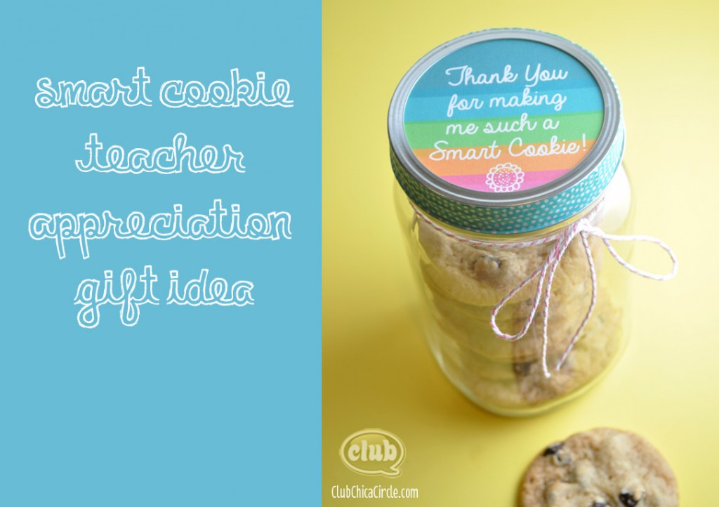 Smart Cookie Teacher Cookie Jar: 10 Christmas Gift Ideas For Teachers | Cheap Is The New Classy