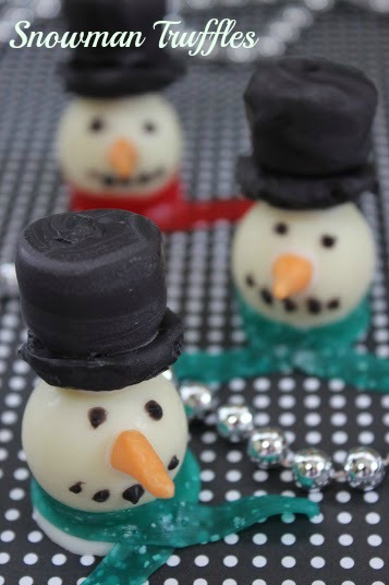 Snowman Truffles: 10 Fun Ways To Build A Snowman | Cheap Is The New Classy