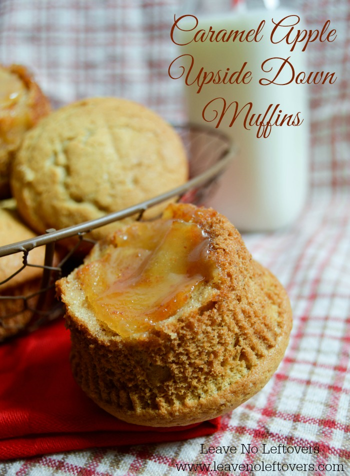 Caramel Apple Upside Down Muffins: 10 Favorite Fall Recipes With Apples | Cheap Is The New Classy