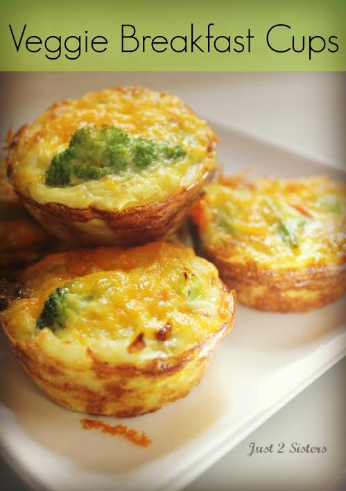 Veggie Breakfast Cups: 10 Egg-stremely Good Egg Recipes For National Egg Day and World Egg Day | Cheap Is The New Classy