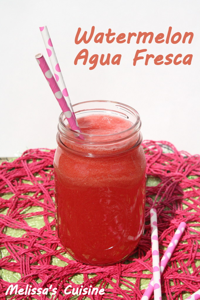 Watermelon Aqua Fresca: Melon Recipes: 10 Recipe Ideas For Your Favorite Melons | Cheap Is The New Classy