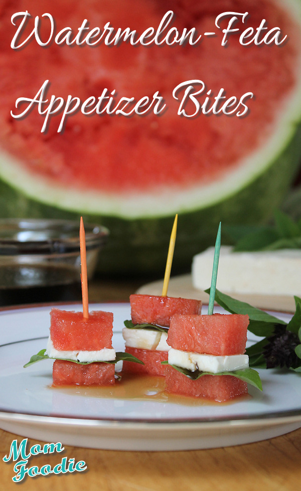 Watermelon-Feta Appetizer Bites: Melon Recipes: 10 Recipe Ideas For Your Favorite Melons | Cheap Is The New Classy