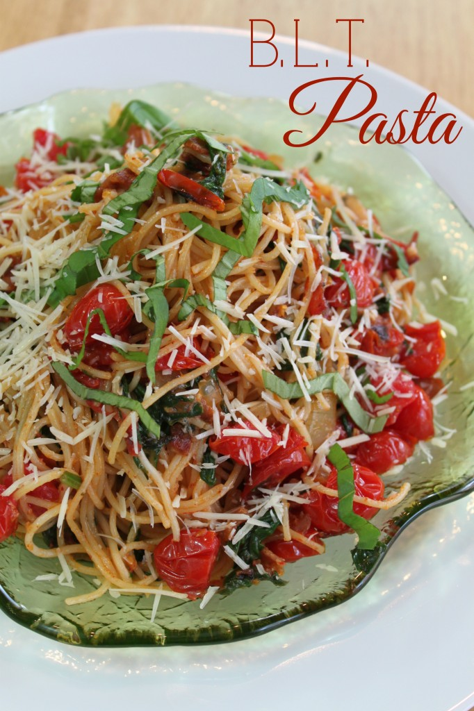B.L.T. Pasta: 10 Perfect Pasta Recipes for National Pasta Day | Cheap Is The New Classy