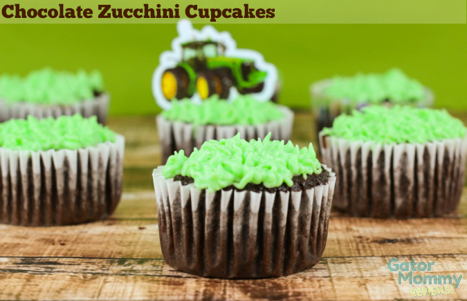 Chocolate Zucchini Cupcakes: 10 Chocolate Cupcake Ideas for Chocolate Lovers | Cheap Is The New Classy