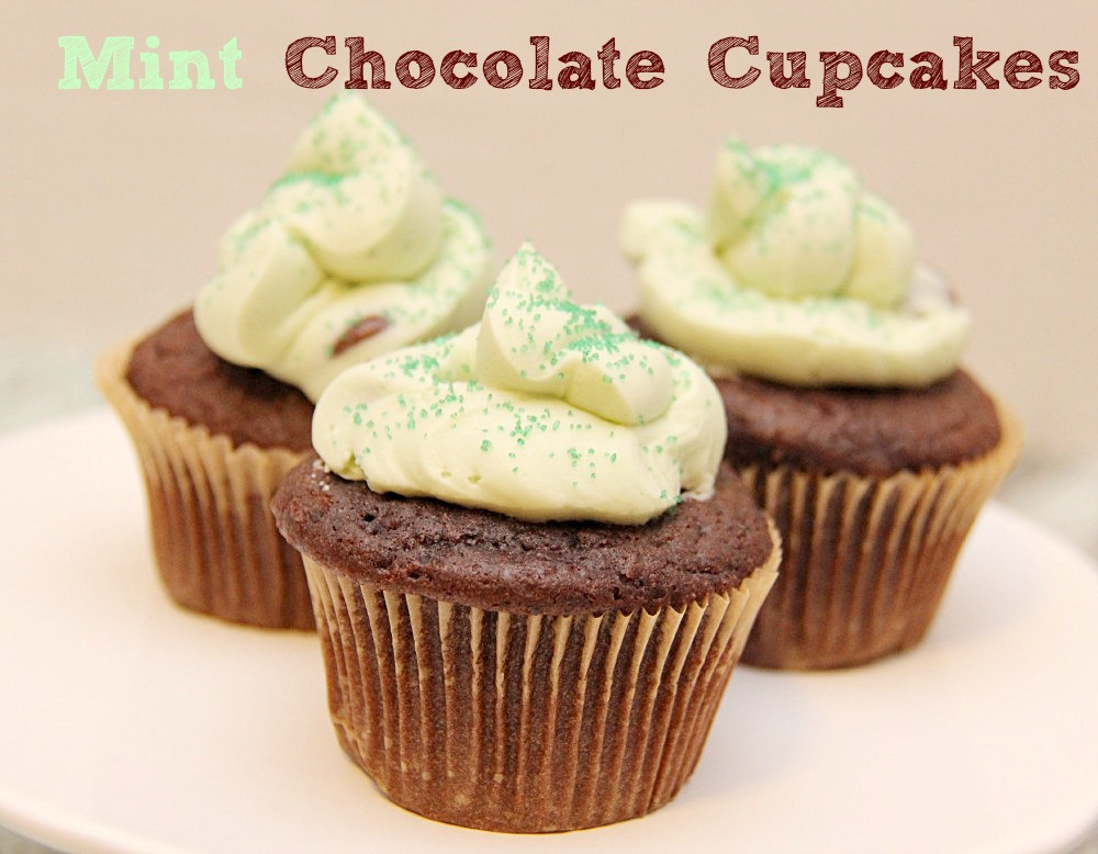 Mint Chocolate Cupcakes: 10 Chocolate Cupcake Ideas for Chocolate Lovers | Cheap Is The New Classy