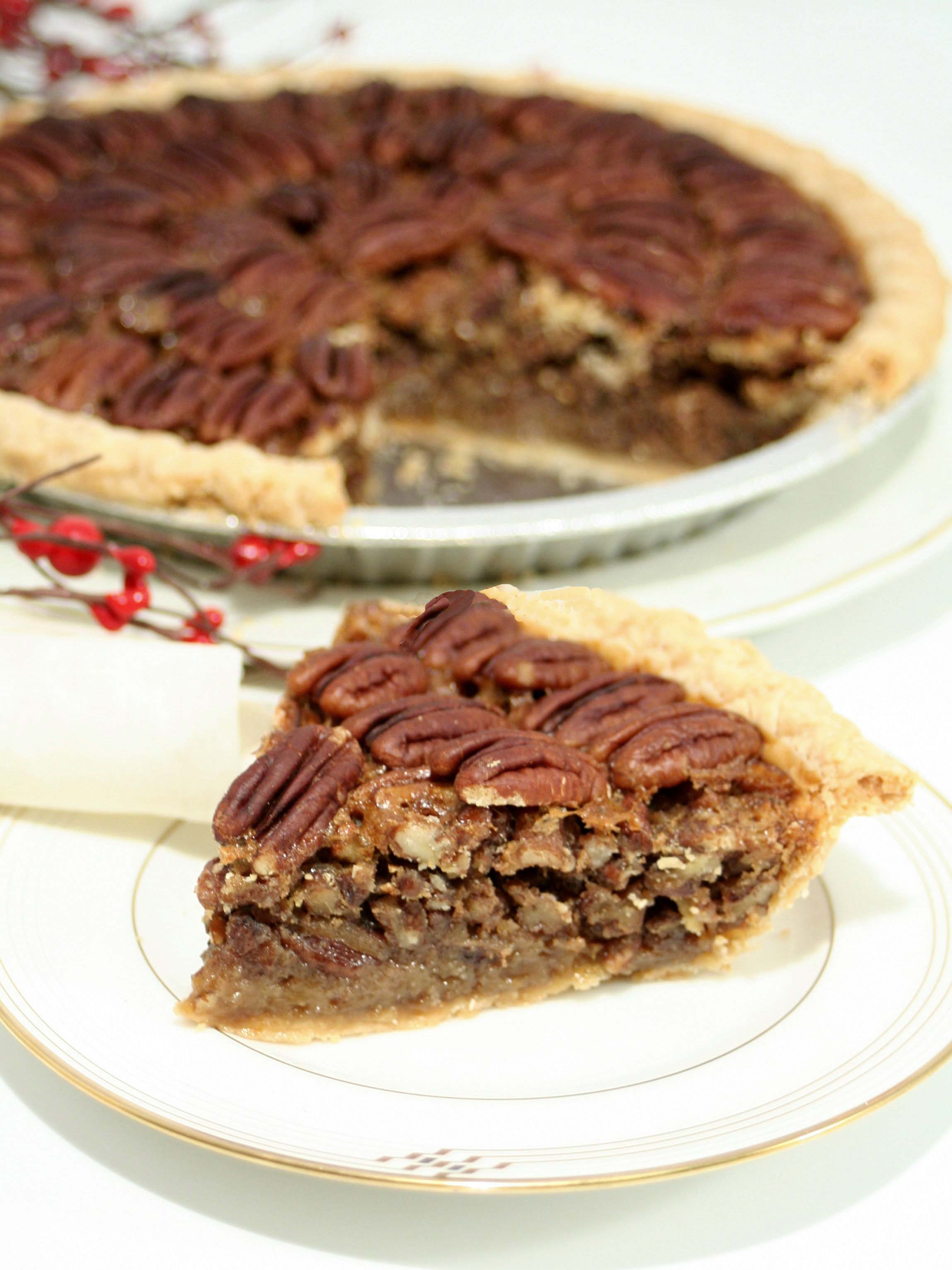 Aunt Bonnie's Pecan Pie: 10 Desserts With Nuts Recipes For Those Nuts For Desserts | Cheap Is The New Classy