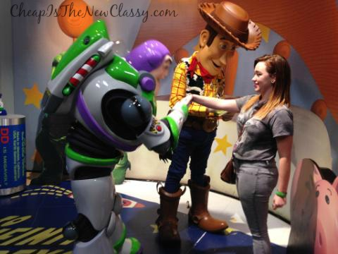 Toy Story Buzz Lightyear and Woody Character Meet and Greets at Walt Disney World: Memorable Souvenirs That Don't Cost A Lot of Money | Cheap Is The New Classy