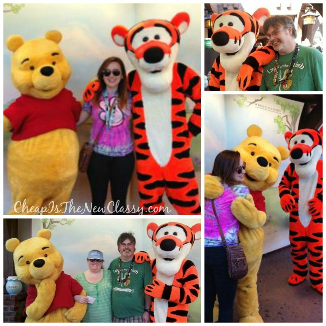 Winnie the Pooh and Tigger Character Meet and Greets at Walt Disney World: Memorable Souvenirs That Don't Cost A Lot of Money | Cheap Is The New Classy