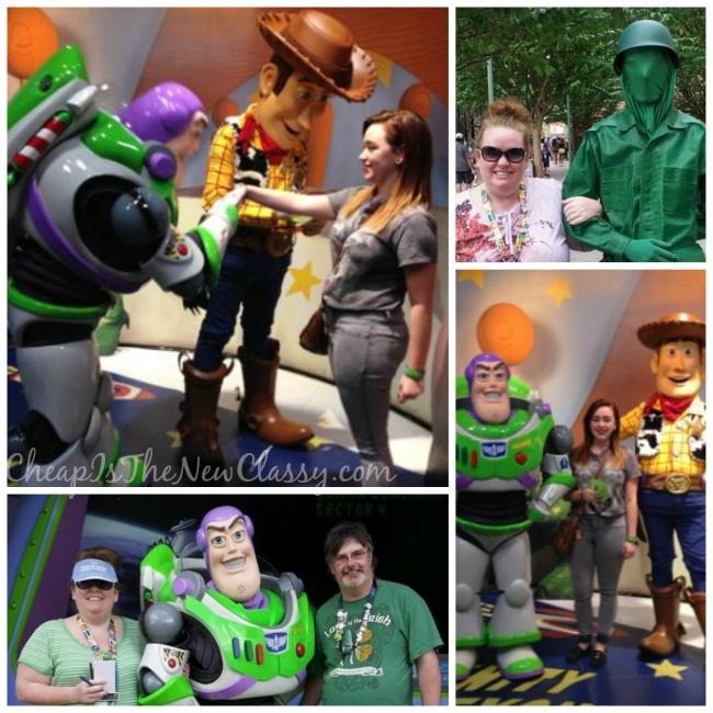 Toy Story Woody and Buzz LightyearCharacter Meet and Greets at Walt Disney World: Memorable Souvenirs That Don't Cost A Lot of Money | Cheap Is The New Classy