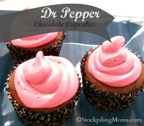 Dr Pepper Chocolate Cupcakes: 10 Chocolate Cupcake Ideas for Chocolate Lovers | Cheap Is The New Classy