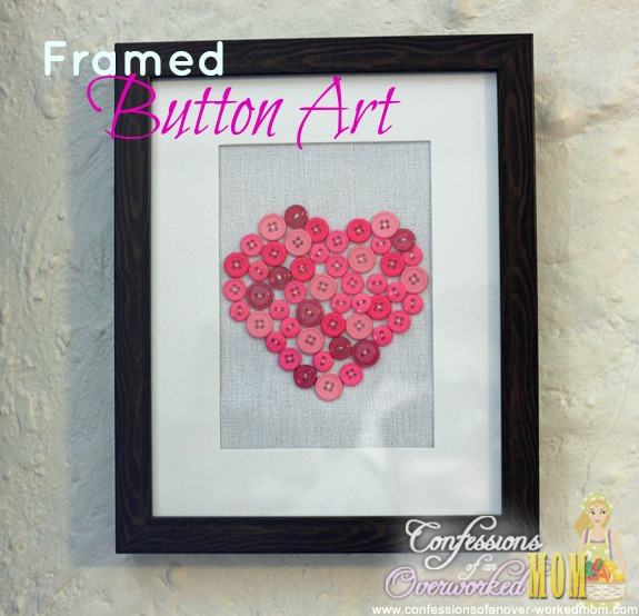 framed-button-art-simple-home-decorating-ideas