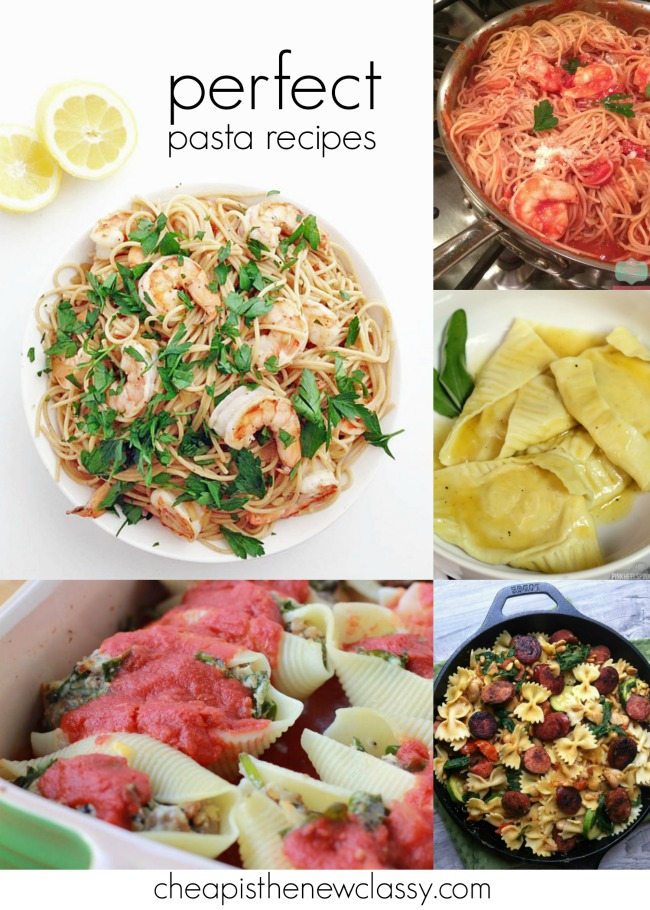 10 Perfect Pasta Recipes for National Pasta Day | Cheap Is The New Classy